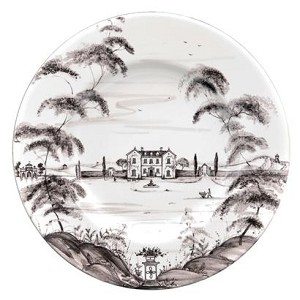 Country Estate Dinner Plate; Flint