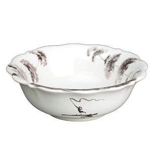 Country Estate Scalloped Berry Bowl G]Flint