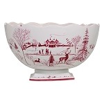Winter Frolic Country Estate Center Piece Bowl