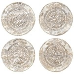 Firenze Medici Cocktail Plates Set/4