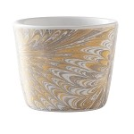 Firenze Marbleized Medici Nut Bowl Gold/Platinum