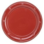 Berry and Thread  Dinner Plate; Ruby