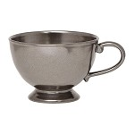 Pewter Stoneware Comfort Cup