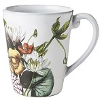 Flowers White Truffle Mug