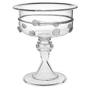 Isabella Md Footed Compote Clear
