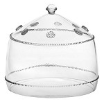 Isabella Lg Cake Dome Clear