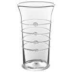 Arden Flared Column Vase Clear