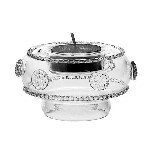 Isabella Tea Light/Vase Clear