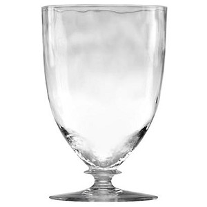 Octavia Footed Tumbler Clear
