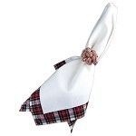 Red Plaid Napkin