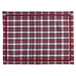 Juliska Country Estate Red Plaid Placemat