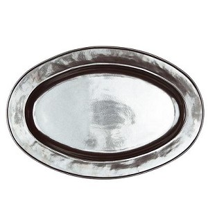 Pewter Large Oval Platter