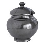 Pewter Lidded Sugar Bowl