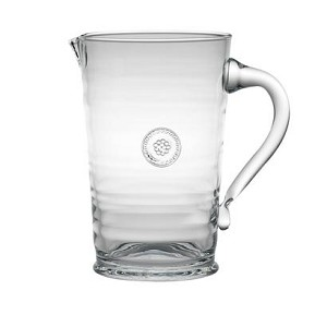 Berry and Thread Glassware Pitcher Clear