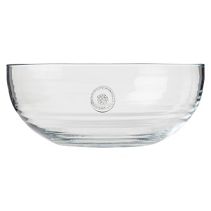 Berry and Thread Glassware Lg Bowl Clear