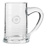 Berry and Thread Glassware Beer Stein Clear