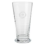 Berry and Thread Glassware Md Vase Clear