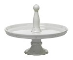 Berry and Thread Pastry Stand Whitewash