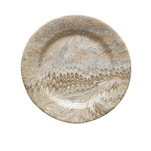 Firenze Marbleized Dessert/Salad Plate Neutral