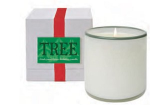 Holiday Tree Candle - Fresh Pine Forest