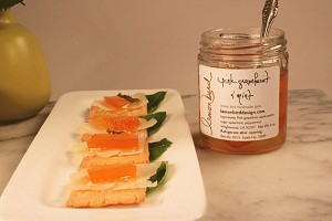 Lemon Bird Pink Grapefruit with Mint Jam