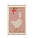 Goose Pink Folded Card