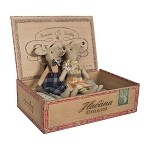 Mum Dad Mice Cigar Box