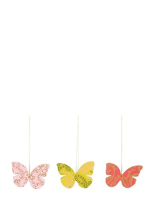 Maileg Vintage Paper Butterfly Ornaments
