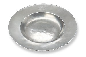 Wide Rim Shallow Bowl