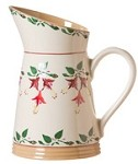 Fuchsia Medium Angled Jug