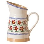 Old Rose Angled Jug