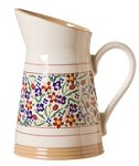 Wildfower Meadow Angled Jug