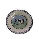 Cow Tiny Plate