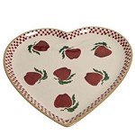 Apple Heart Shaped Plate