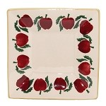 Apple Small Square Plate