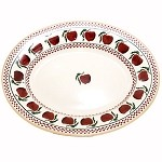 Apple Medium Oval Serving Dish