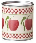 Apple Candle Tin
