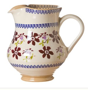 Clematis Medium Jug