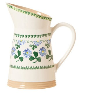Clover Medium Angled Jug
