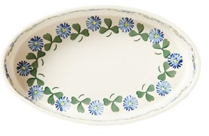 Clover Oval Oven Dish