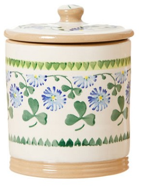 Clover  Small Storage Jar - RETIRED
