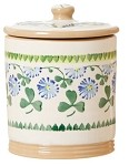 Clover Storage Jar
