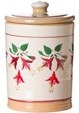 Fuchsia Storage Jar