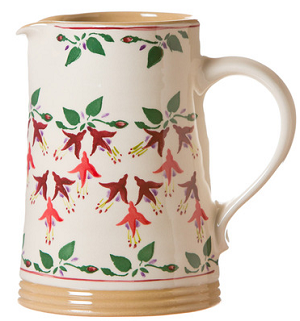 Fuchsia Medium Cylinder Jug