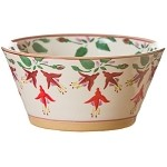 Fuchsia Small Angled Bowl