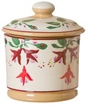 Fuchsia Lidded Sugar Bowl