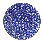 Lawn Dark Blue Lunch Plate