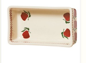 Apple Medium Rectangular Oven Dish