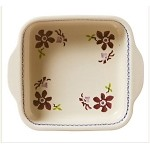 Clematis Square Oven Dish