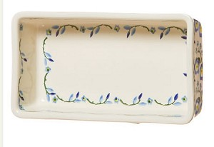 Forget Me Not Med Rectangular Oven Dish